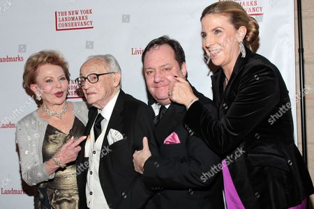 Stock Picture of Charlene Nederlander, James M. Nederlander, James L Nederlander and Margo Nederlander