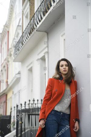 Editorial photo of Matilda Sturridge, Clarendon Cross, Notting Hill, London, Britain - 23 Aug 2012