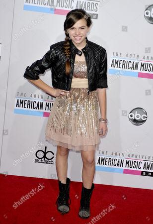 Editorial photo of 40th Anniversary American Music Awards, Arrivals, Los Angeles, America - 18 Nov 2012