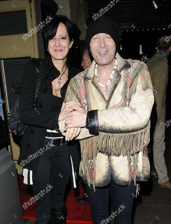 Stock Photo of Sabrina von Graf and Richard O'Brien