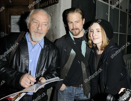 Paul Freeman, Samuel West and Laura Carmichael