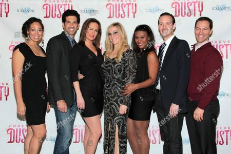 Editorial image of 'Forever Dusty' at New World Stages!, New York, America - 11 Nov 2012