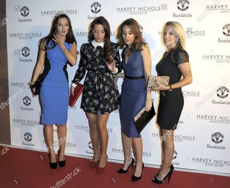 Stock Image of Ana Vidic, Dannielle Martins, Bouchra van Persie and Laura Christ.