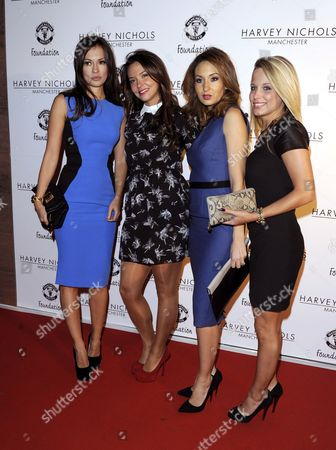 Stock Picture of Ana Vidic, Dannielle Martins, Bouchra van Persie and Laura Christ.
