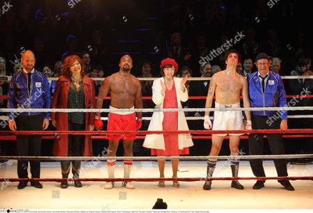 Editorial image of 'Rocky - Das Musical: Fight from the Heart' premiere, Hamburg, Germany - 18 Nov 2012