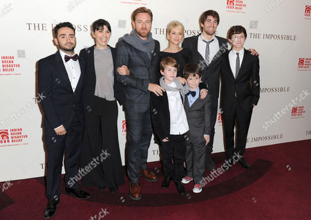 Editorial photo of 'The Impossible' film premiere, London, Britain - 19 Nov 2012