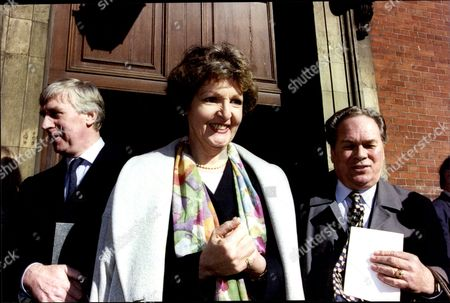 Editorial picture of Penelope Keith At The Memorial Service For Actor Paul Eddington.