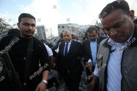 Editorial image of Egypt's Islamist Freedom and Justice Party leader Saad al-Katatni in Gaza City, Gaza Strip, Palestinian Territories - 19 Nov 2012