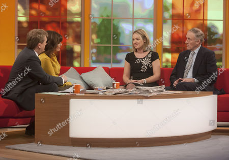Aled Jones and Lorraine Kelly with Sally Nightingale and Julian Brazier