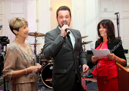 Stock Picture of Linda Cooney, Danny Dyer and Vicki Michelle