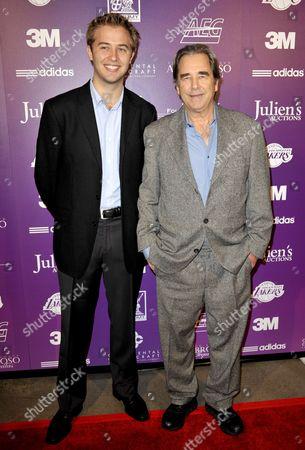 Dylan Bridges and Beau Bridges