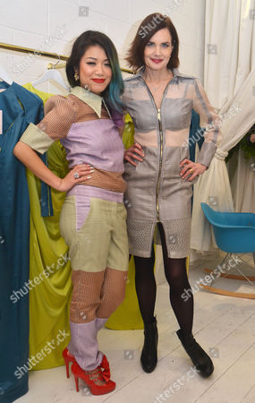 Star Hu and Elizabeth McGovern