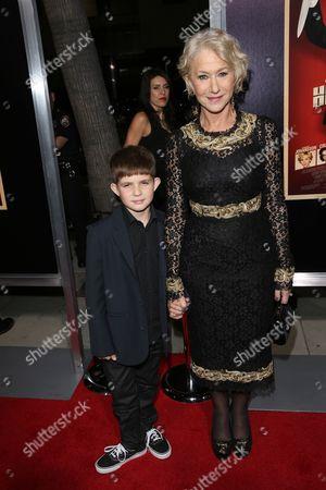 Helen Mirren and her nephew Felix Mirren