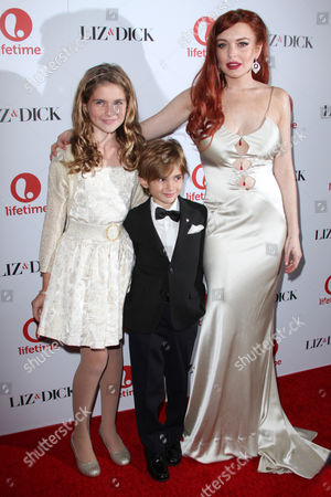 Taylor Ann Thompson, Trevor Thompson and Lindsay Lohan