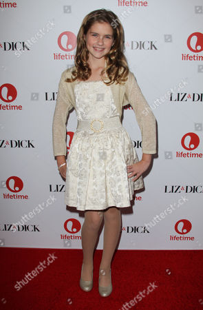 Editorial image of 'Liz and Dick' film premiere, Los Angeles, America - 20 Nov 2012