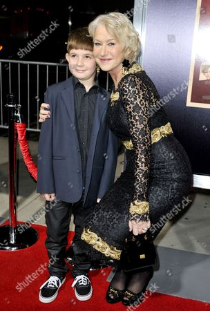 Helen Mirren and Felix Mirren