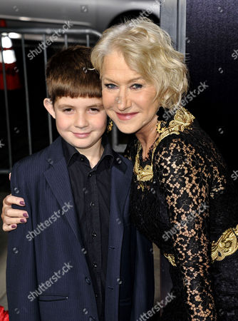 Helen Mirren and nephew Felix Mirren