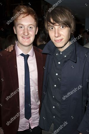 Will Merrick and Alex Arnold
