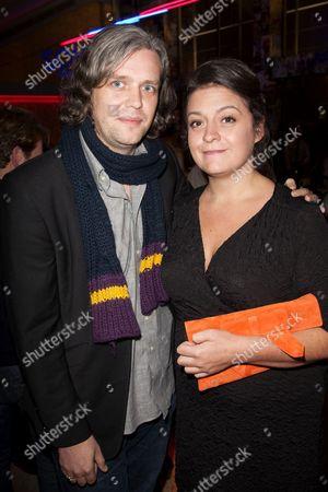 Stock Image of Steve Marmion (Artistic Director) and Alexandra Spencer-Jones (Director)