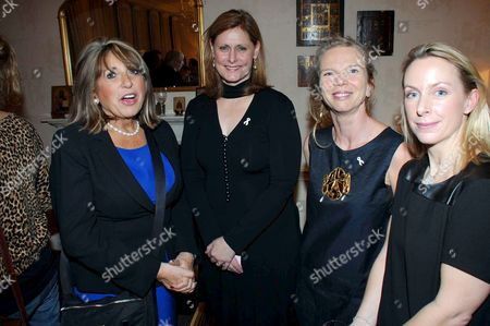 Sarah Brown, Eve Pollard, Vanessa Branson and Jo Vestey