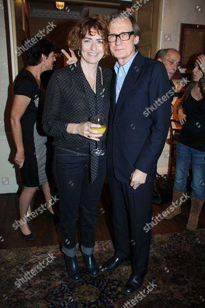 Bill Nighy and Anna Chancellor