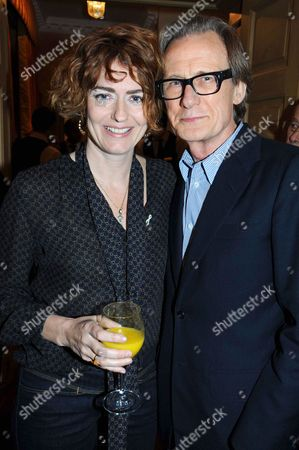Anna Chancellor and Bill Nighy