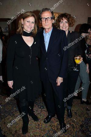 Sarah Brown, Bill Nighy and Anna Chancellor