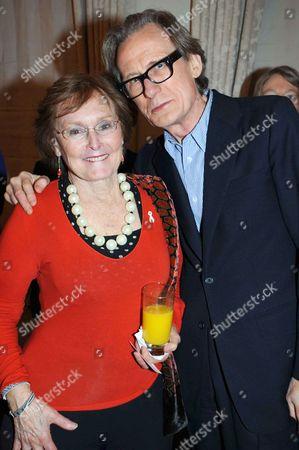 Pauline Macaulay and Bill Nighy