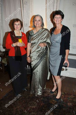 Pauline Macaulay, Babli Sharma and Brigid McConville