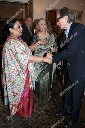 Babli Sharma and Bill Nighy