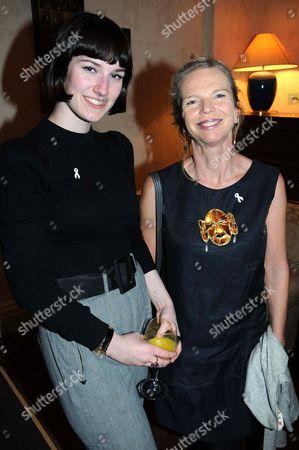 Stock Photo of Poppy Chancellor and Vanessa Branson