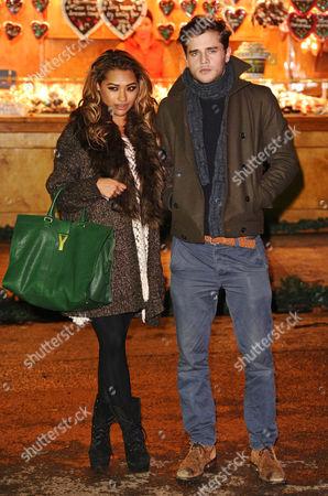 Vanessa White with boyfriend Gary Salter