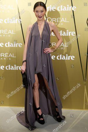 Editorial image of Marie Claire Prix de la Moda awards, Madrid, Spain - 22 Nov 2012