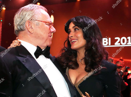 Editorial picture of Bambi Awards, Dusseldorf, Germany - 22 Nov 2012