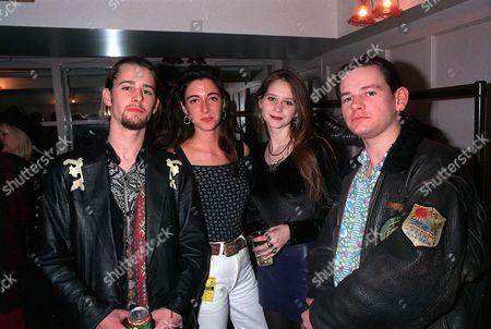 Jason Starkey, Mary McCartney, Lee Starkey and Zak Starkey