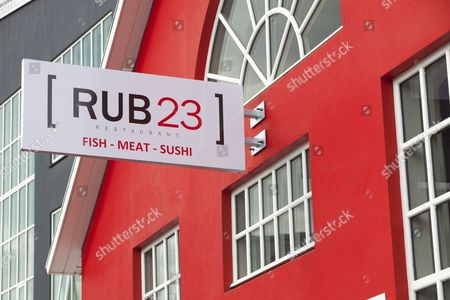 A fish, meat and sushi restaurant in Akureyri, Northern Iceland.