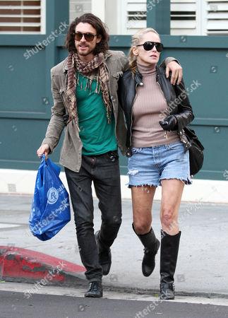 Sharon Stone and Martin Mica