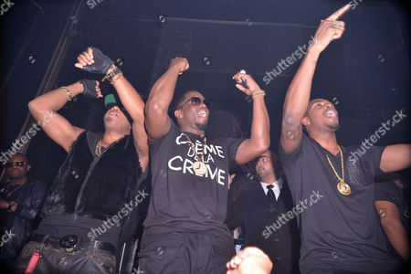 Red Cafe, Sean Combs and King Los