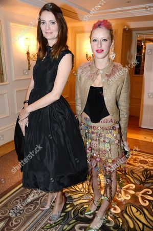 Plum Sykes and Harriet Verney