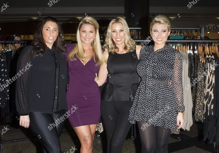 Editorial image of 'The Only Way is Essex' Stars at their Pop Up Boutique Minnies, Southampton, Britain - 24 Nov 2012