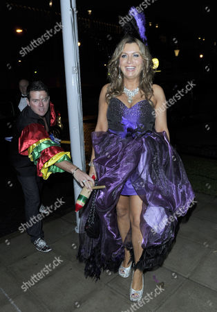 Editorial image of Denise Welch and Tim Healy Charity Rio Ball, Manchester, Britain - 24 Nov 2012