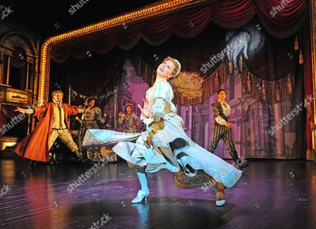 Editorial image of 'Kiss Me Kate' performed at The Old Vic Theatre, London, Britain - 23 Nov 2012