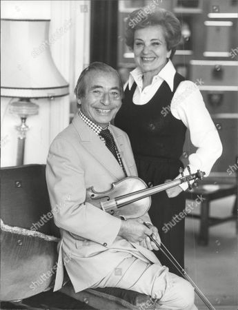 Stock Image of Musician And Band Leader Joe Loss With Wife Joshua Alexander 'joe' Loss Lvo Obe (22 June 1909 A 6 June 1990) Was A British Musician Popular During The British Dance Band Era And Was Founder Of The Joe Loss Orchestra.