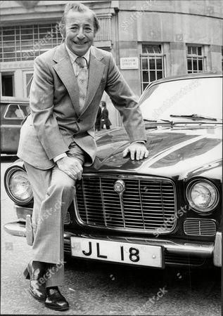 Musician And Band Leader Joe Loss With His Jaguar Motor Car Joshua Alexander 'joe' Loss Lvo Obe (22 June 1909 A 6 June 1990) Was A British Musician Popular During The British Dance Band Era And Was Founder Of The Joe Loss Orchestra.
