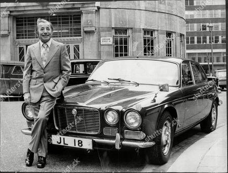 Musician And Band Leader Joe Loss With His 4.2 Jaguar Motor Car Joshua Alexander 'joe' Loss Lvo Obe (22 June 1909 A 6 June 1990) Was A British Musician Popular During The British Dance Band Era And Was Founder Of The Joe Loss Orchestra.