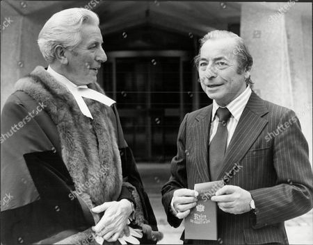 Editorial picture of Musician And Band Leader Joe Loss (right) With The Chamberlain Of London Mr John Briggs As Joe Received The Freedom Of The City Of London Joshua Alexander 'joe' Loss Lvo Obe (22 June 1909 A 6 June 1990) Was A British Musician Popular During The Bri