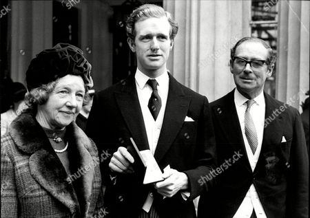 Richard Meade Who Was Awarded The O.b.e With His Parents At Buckingham Palace.
