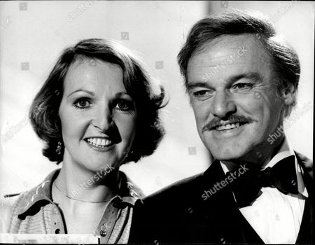 Stock Image of Keith Michell And Penelope Keith.