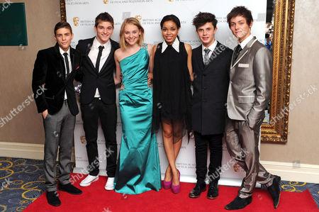 Stock Picture of Friday Download cast: Aidan Davis, Richard Wisker, Georgie Lock, Dionne Bromfield, Ceallach Spellman and Tyger Drew-Honey