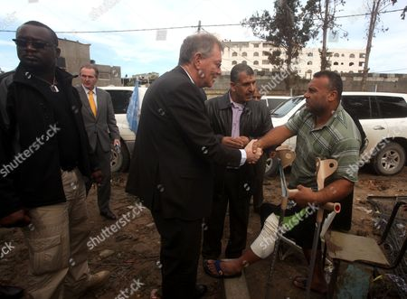 Editorial image of Robert H. Serry, the United Nations special coordinator for the Middle East Peace Process, visits the Gaza Strip - 24 Nov 2012